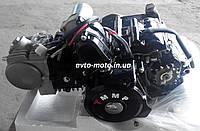 Двигатель мопед Актив 125 см3 механика (цилиндр алюминиевый)