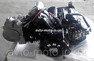 Двигун мопед Актив 125 см3 механіка (циліндр алюмінієвий)
