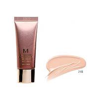 Увлажняющий и ухаживающий ББ крем MISSHA M Signature Real Complete BB Cream SPF25/PA++ No.21/Light Pink Beige