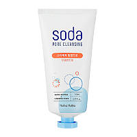Очищающая пенка для снятия ББ крема Holika Holika Soda Tok Tok Clean Pore Deep Cleansing Foam 150 мл