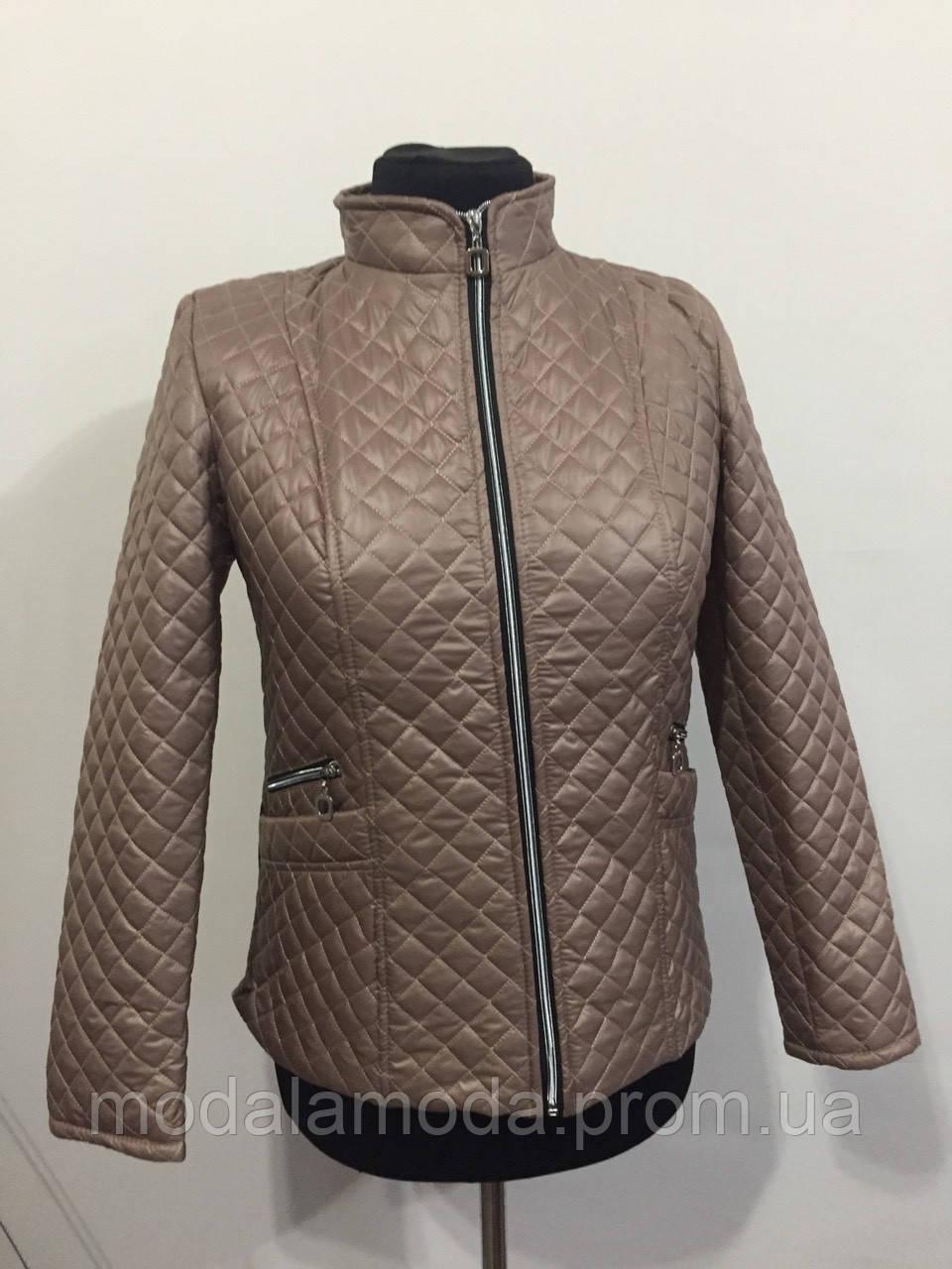 Куртка стеганная женская большого размера