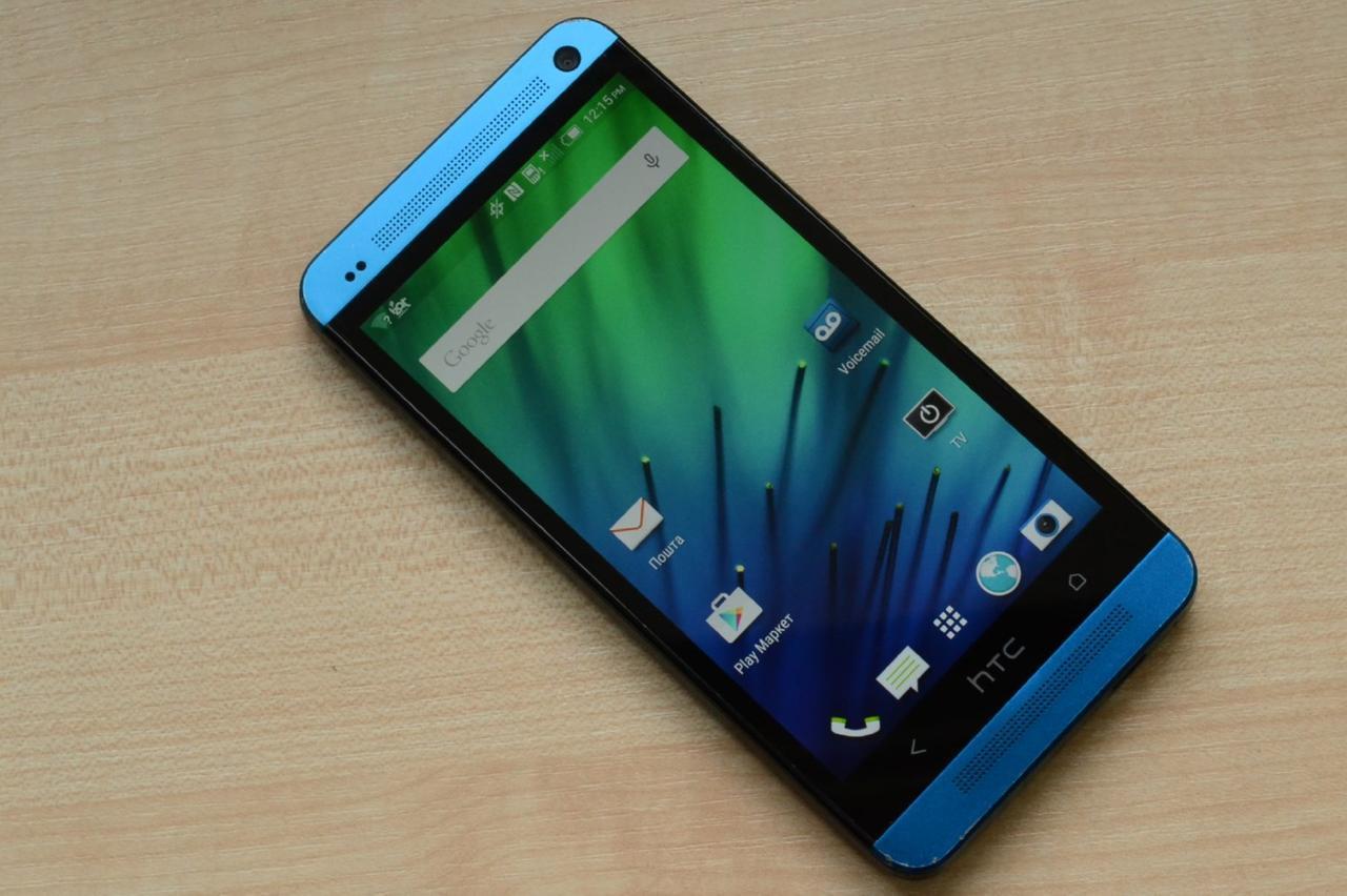 Смартфон HTC One M7 32Gb Blue Оригинал!