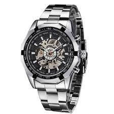 Мужские механические часы Winner Timi Skeleton Automatic Sport