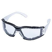 Очки защитные c обтюратором Zoom anti-scratch, anti-fog (прозрачные) Sigma, фото 1