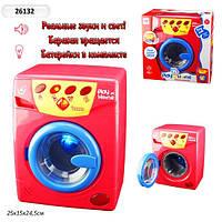 Бытовая техника Стиралная машина вода, свет, звук, в коробке 26х25 см 26132
