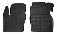 Коврики в салон Ford Tourneo Connect II (длинная база) 2013 -, черные, полиуретановые (Avto-Gumm, 11449-11564) - передний водительский + пассажирский