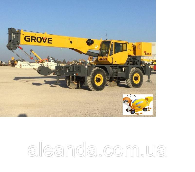 Кран Grove RT530 E-2   Год 2010 Наработка 632   +380676906866 Александр
