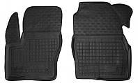 Коврики в салон Ford Tourneo Connect II (короткая база) 2013 -, черные, полиуретановые (Avto-Gumm, 11453-11564) - передний водительский + пассажирский