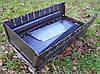 Складной мангал чемодан на 10 шампуров, толщина стали 2 мм, для похода или дачи - Фото