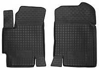 Коврики в салон Hyundai Accent III (MC) 2005 - 2010, черные, полиуретановые (Avto-Gumm, 11159-11564) - передний водительский + пассажирский