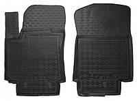 Коврики в салон Hyundai Creta 2016 - черные, полиуретановые (Avto-Gumm, 11578-11564) - передний водительский + пассажирский