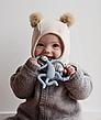 Игрушка-прорезыватель Matchstick Monkey Танцующая Обезьянка (цвет серый, 14 см), фото 3
