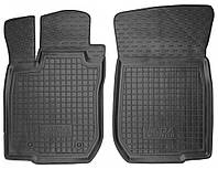 Коврики в салон Lada Largus 2012 -, черные, полиуретановые (Avto-Gumm, 11505-11564) - передний водительский + пассажирский