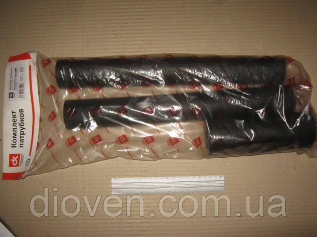 Патрубок радиатора КРАЗ (к-т 3шт.) Супер МАЗ, ЯМЗ  (Арт. DK-1339)