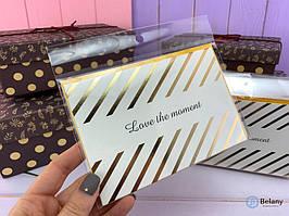 """""""GOLD SERIES #9"""" красивая открытка приятный и стильный сюрприз"""