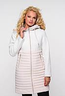 Удлиненная качественная куртка Агния, разные цвета, фото 1