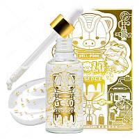 Антивозрастная осветляющая эссенция с частичками  24к золота Elizavecca Milky Piggy Hell-Pore Gold Essence