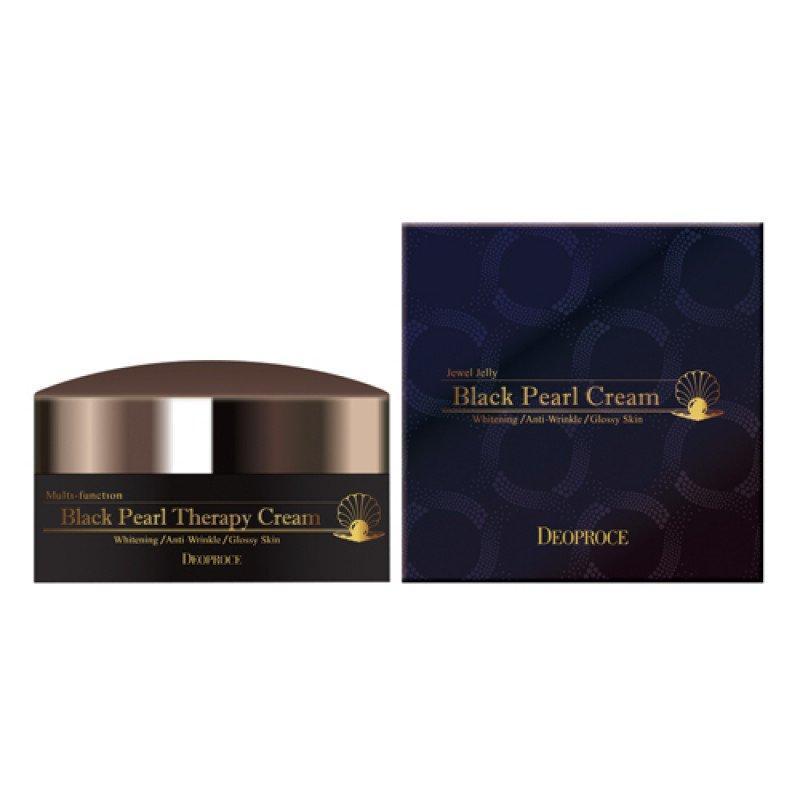 Антивозрастной крем с черным жемчугом Deoproce Black Pearl Therapy Cream