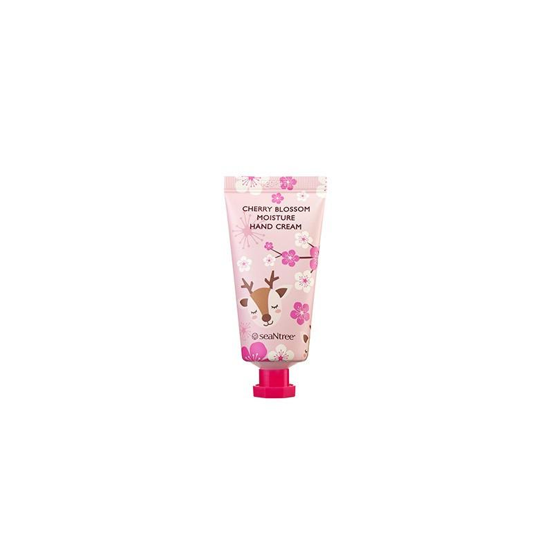 Увлажняющий крем для рук с экстрактом вишни SeaNtree Cherry Blossom Moisture Hand Cream 30 мл
