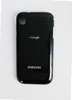 Крышка (задняя панель) на телефон Samsung i9000, i9001 черная