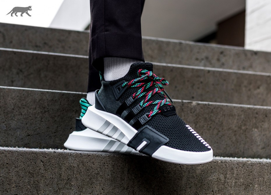 finest selection 45925 74434 Кроссовки Adidas EQT Support Bask Adv Core Black Sub Green - Bigl.ua