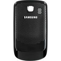 Крышка (задняя панель) на телефон Samsung S3850 черная