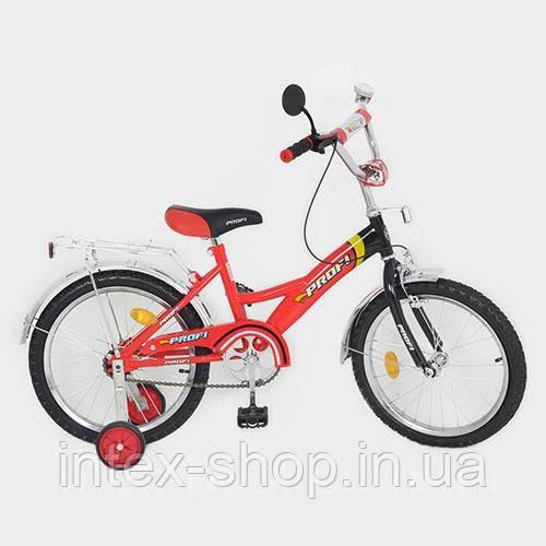 Детский двухколесный велосипед PROFI 18 дюймов P 1836 красный
