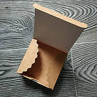 Коробка для  4-х конфет (83*83*30 мм.)