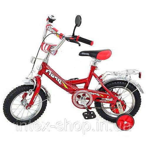Велосипед 12 дюймов детский двухколесный Profi P 1231