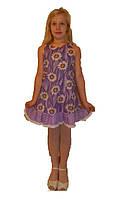 Летнее платье - сарафан для девочки в ромашки. Оригинальный подарок , фото 1