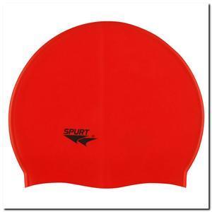 Шапочка силіконова для плавання SPURT Solid color