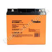 MERLION GL1220M5 - 12В - 20А/ч Гелевый аккумулятор, клемма под болт