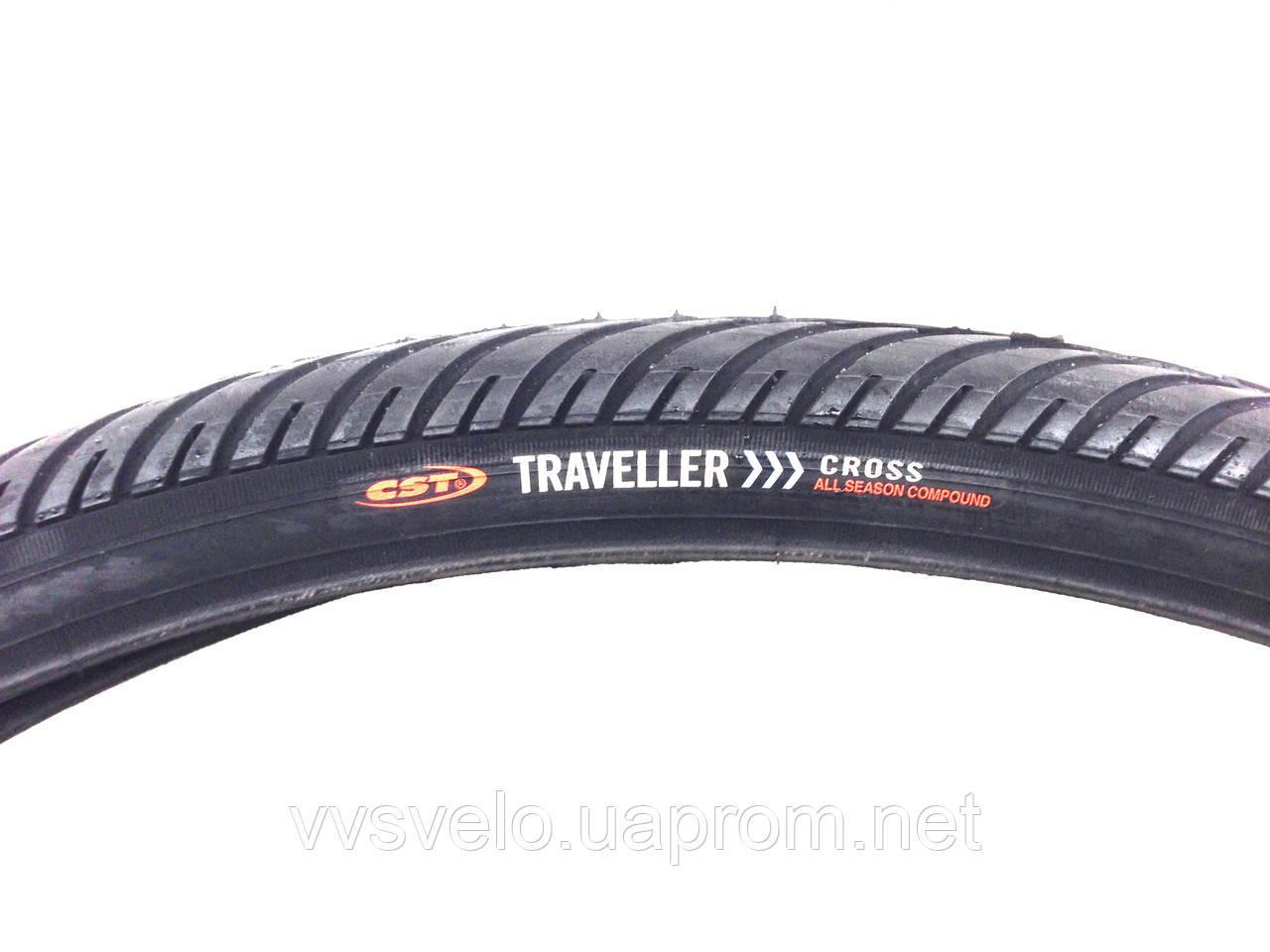 """Покрышка для велосипеда """"CST""""TRAVELLER CROSS 28 дюймов 622-42"""