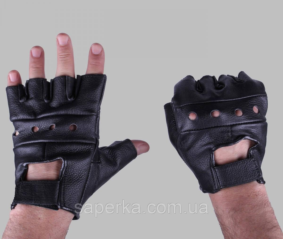 Перчатки кожаные тактические  Biker Mil-tec