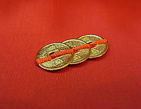 Монеты тройка d=25 мм под золото и под бронзу