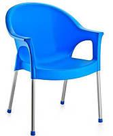Кресло Bergama алюминиевые ножки