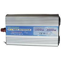 Инвертор NV-P 1000Вт/12В-220В AXIOMA energy