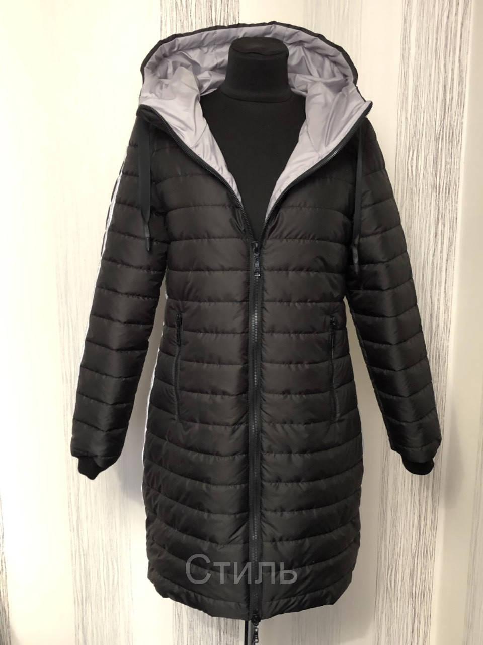 Удлиненная женская куртка демисезонная новинки 2019
