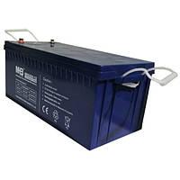 Аккумулятор гелевый 200Ач 12В, GEL, модель-MNG200-12, MHB battery