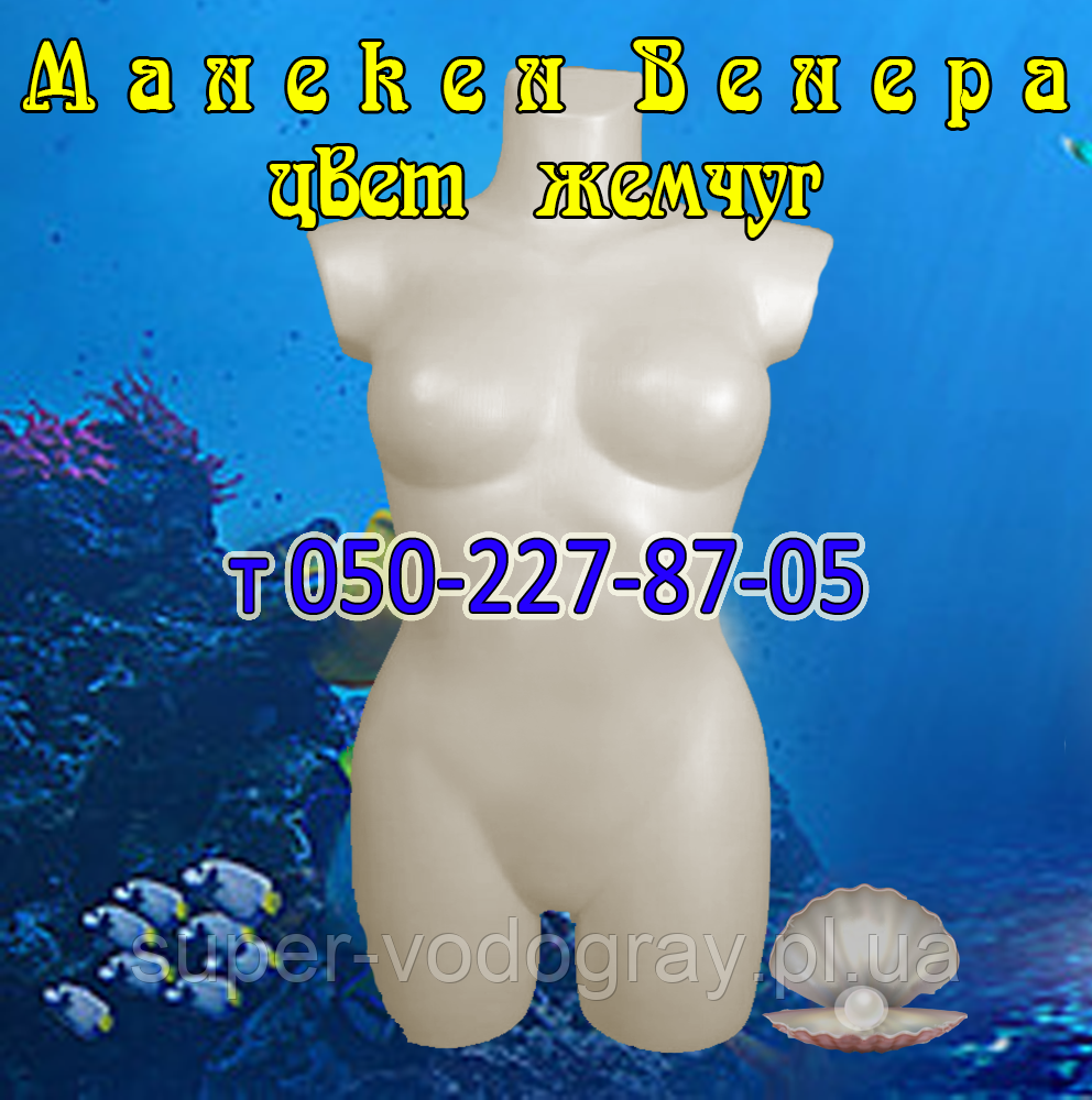 "Манекен торс женский ""Афродита"" (перламутр)"