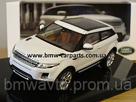 Модель автомобиля Range Rover Evoque 3 Door, Scale 1:43, Fuji White