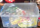 Контейнер пластиковий для зберігання, з ручками,18л, фото 2