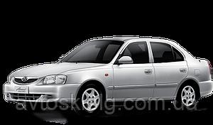 Стекло лобовое, заднее, боковые для Hyundai Accent (Седан, Хетчбек) (1999-2005)