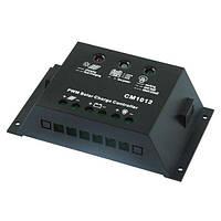 Контроллер 10А 12В + USB гнездо  (Модель-CM1012+USB), JUTA