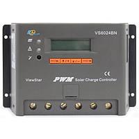 Контроллер, ШИМ 60А 12/24В  с дисплеем, (VS6024BN), EPsolar(EPEVER), фото 1