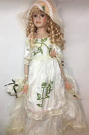 Сувенірна лялька, фарфоровий, колекційна 50 см
