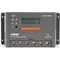 Контроллер, ШИМ 30А 12/24/36/48В  с дисплеем, (VS3048BN), EPsolar(EPEVER), фото 1