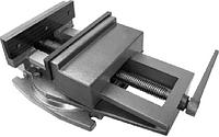 Тиски  станочные поворотные 160 мм, фото 1