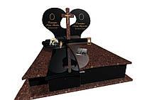 Пам'ятник надгробний елітний з Токівського граніту  F0332, фото 1