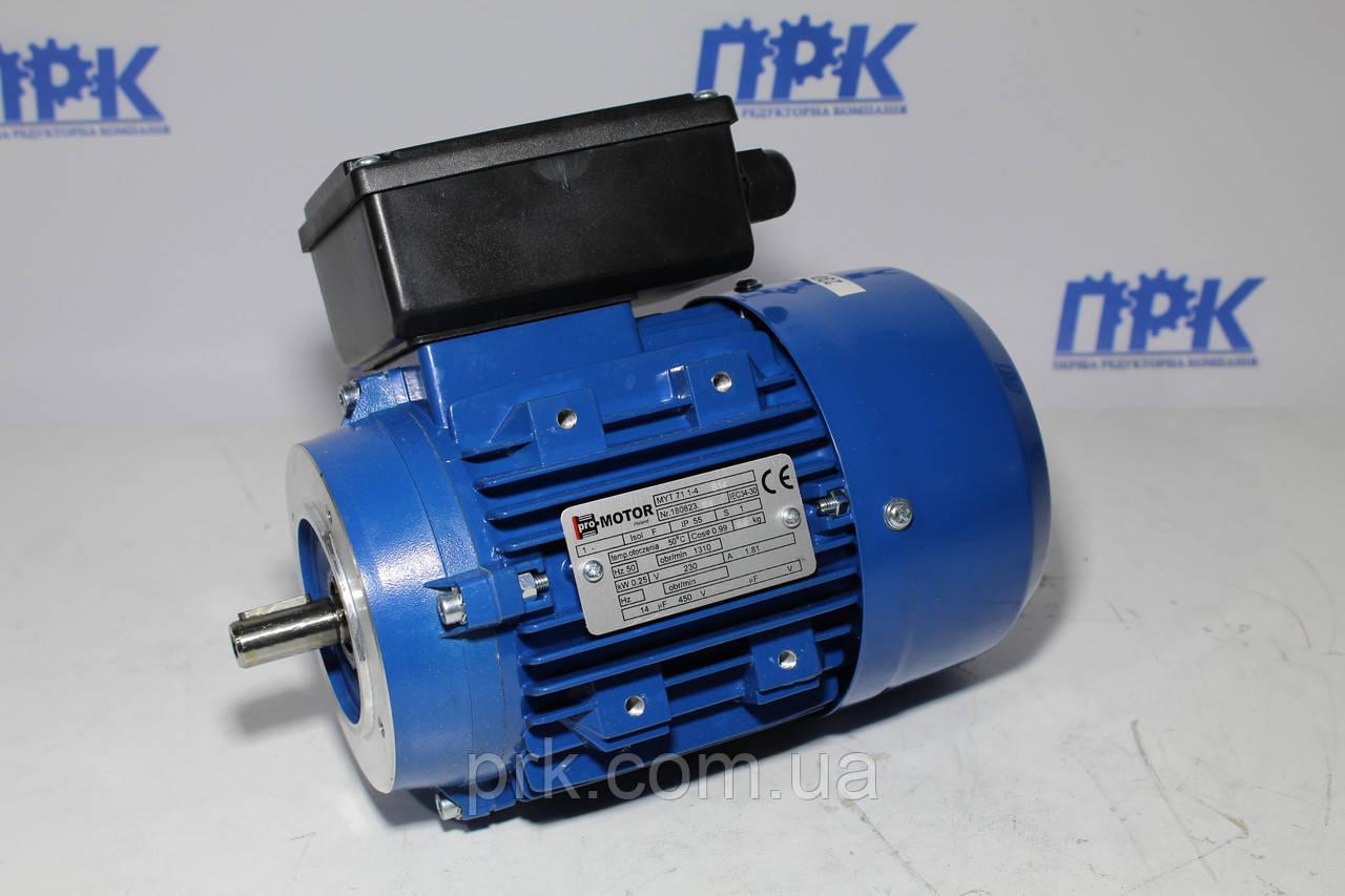 Однофазный асинхронный двигатель ML 63 2-4 0.18 кВт 1380 об./мин. Promotor